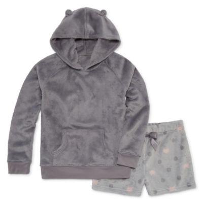 Arizona 2-pc. Shorts Pajama Set Preschool Girls