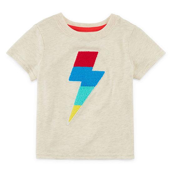 Okie Dokie Boys Round Neck Short Sleeve T Shirt Baby