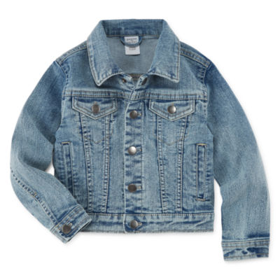 Peyton & Parker Girls Denim Jacket-Toddler