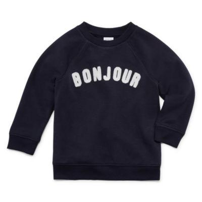 Peyton & Parker Unisex Crew Neck Long Sleeve Sweatshirt - Toddler