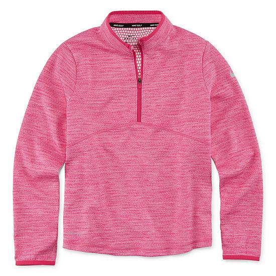 Nike-Big Girls Long Sleeve T-Shirt