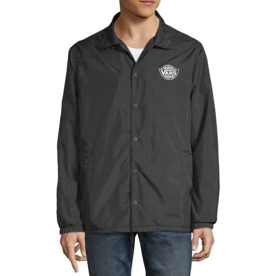 Vans Mens Y Neck Long Sleeve Windbreaker