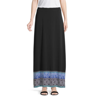 east 5th A Womens Long Maxi Skirt