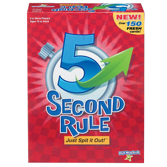 PlayMonster® 5 Second Rule Game