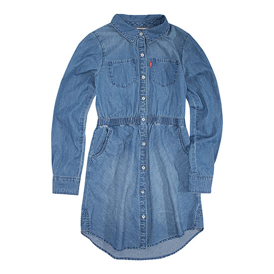 Levi's Long Sleeve Swing Dresses Girls