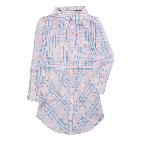 Levi's Long Sleeve Swing Dresses Girls - Preschool