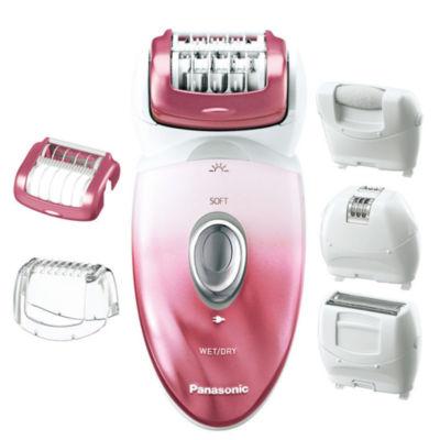 Panasonic™ Ladies' Wet/Dry 5-in-1 Epilator