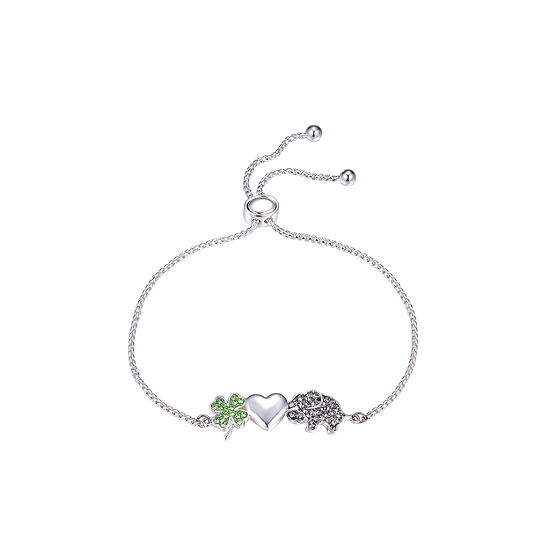 Sparkle Allure Crystal 8 Inch Bolo Bracelet
