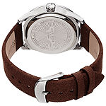 Akribos XXIV Mens Brown Strap Watch-A-1029br