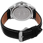 Akribos XXIV Mens Black A-769wt Strap Watch