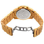 Akribos XXIV Womens Multi-Function Gold Tone Stainless Steel Bracelet Watch - A-908ygpk