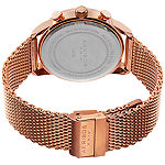 Akribos XXIV Mens Rose Goldtone Bracelet Watch-A-784rg