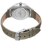 Akribos XXIV Womens Gray Strap Watch-A-1047gy