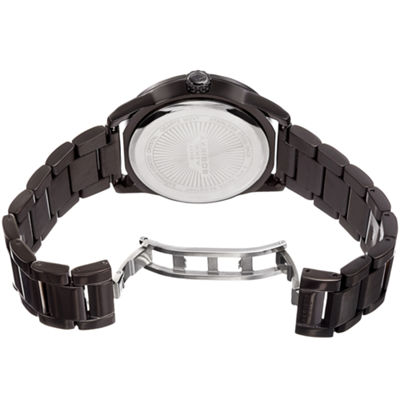 Akribos XXIV Mens Black Bracelet Watch-A-956bu