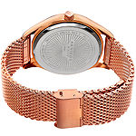 Akribos XXIV Mens Rose Goldtone Bracelet Watch-A-959rggn