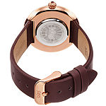 Burgi Womens Brown Strap Watch-B-188br