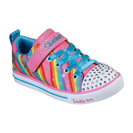Skechers Twinkle Toes Sparkle Lite-Magical Rainbows Girls Sneakers