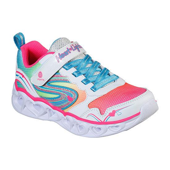 Skechers Heart Lights-Love Spark Little Kid/Big Kid Girls Sneakers