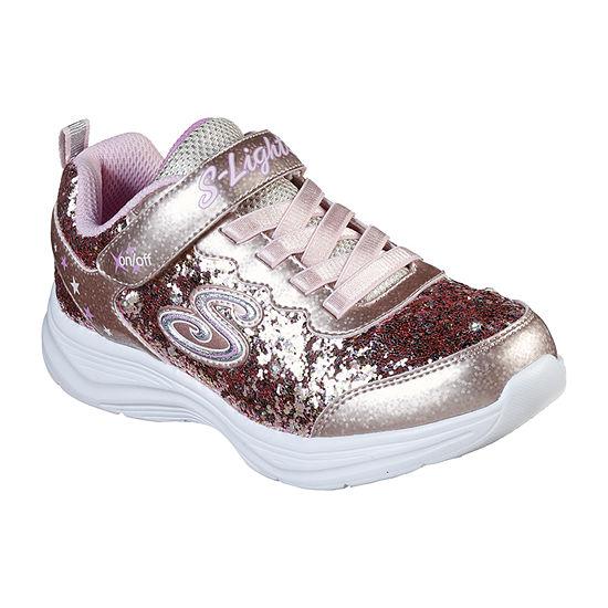 Skechers Glimmer Kicks-Glitter N' Glow Little Kid/Big Kid Girls Sneakers