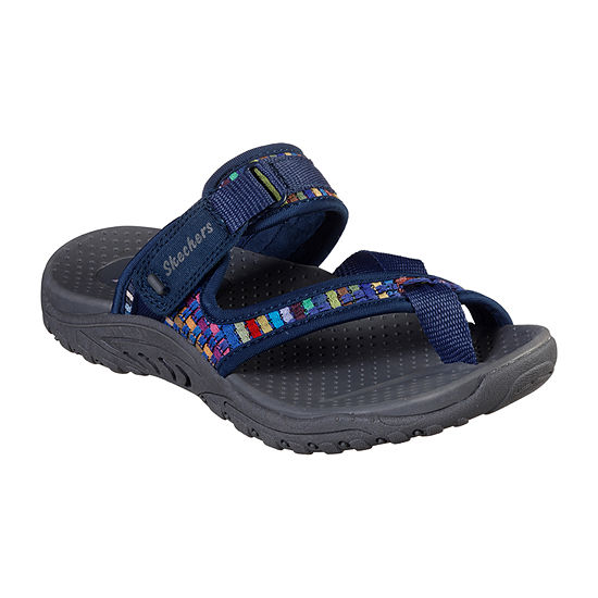 Skechers Reggae - Mad Swag Womens Adjustable Strap Footbed Sandals