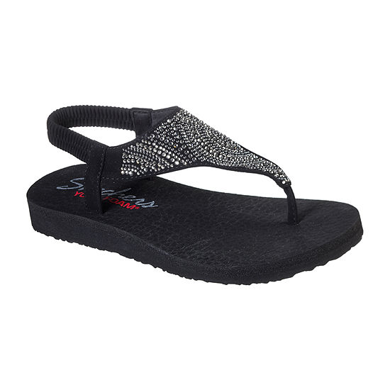 Skechers Womens Meditation - New Moon Flip-Flops