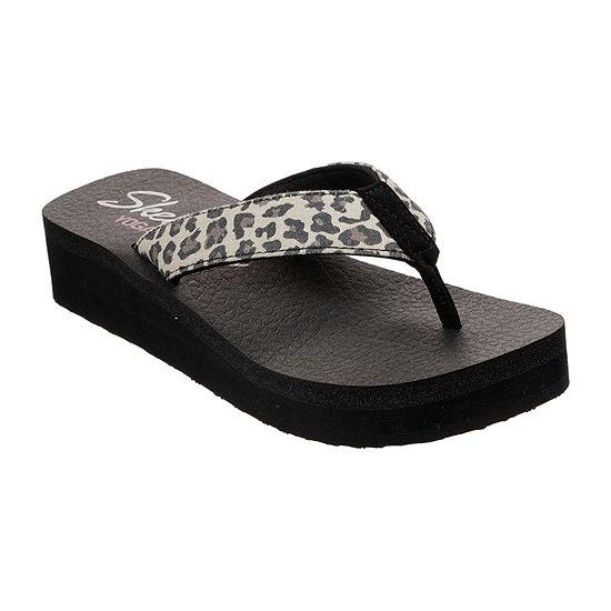 Skechers Womens Vinyasa - Tiger Shark Flip-Flops