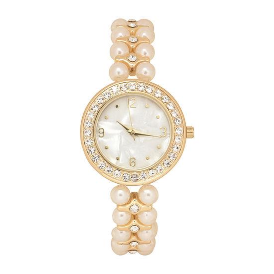 Geneva Womens Multicolor Bracelet Watch-Wac2051jc