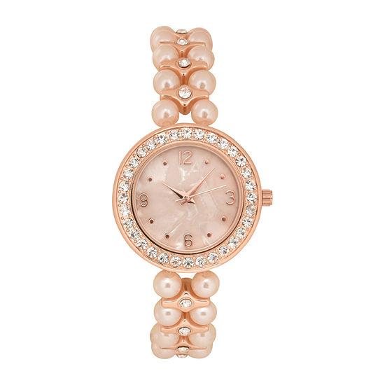 Geneva Womens Multicolor Bracelet Watch-Wac2052jc
