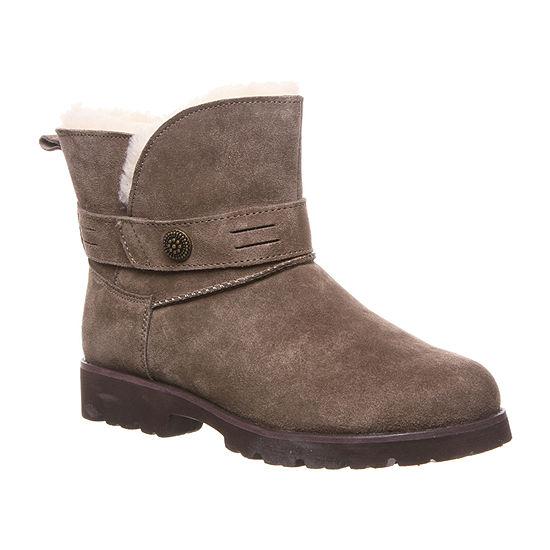 Bearpaw Womens Wellston Water Resistant Winter Boots Block Heel