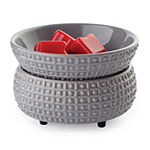 Candle Warmers Etc Slate 2 In 1 Classic Scent Warmer