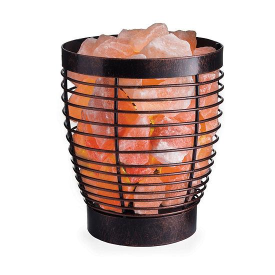 Airome Venya Basket Himalayan Salt Flameless Candle
