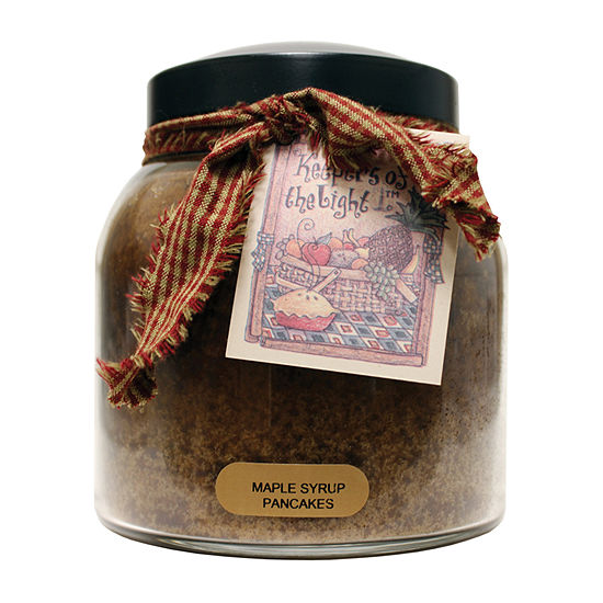 A Cheerful Giver 34oz Papa Maple Syrup Pancakes Jar Candle