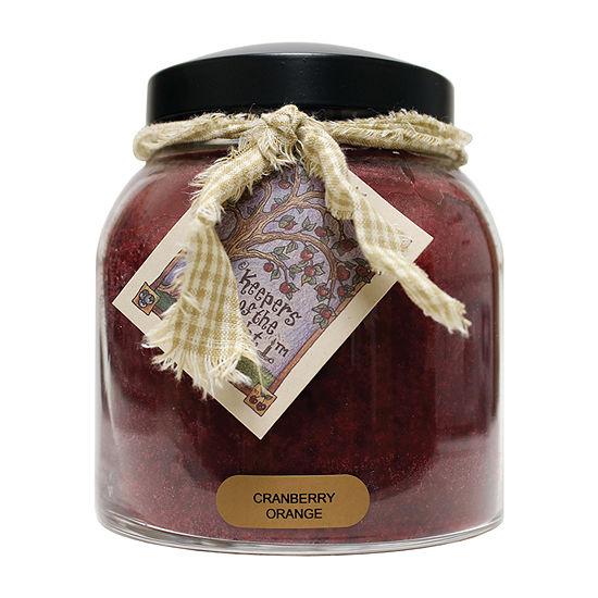 A Cheerful Giver 34oz Papa Cranberry Orange Jar Candle