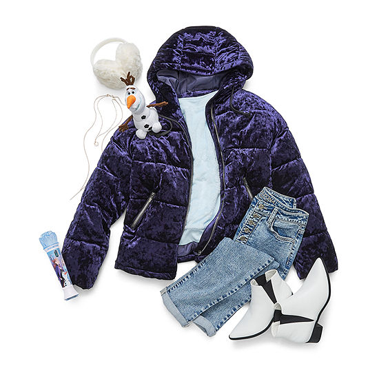 Fearless by Nature Junior's: Puffer Jacket, Jean and Booties with Microphone