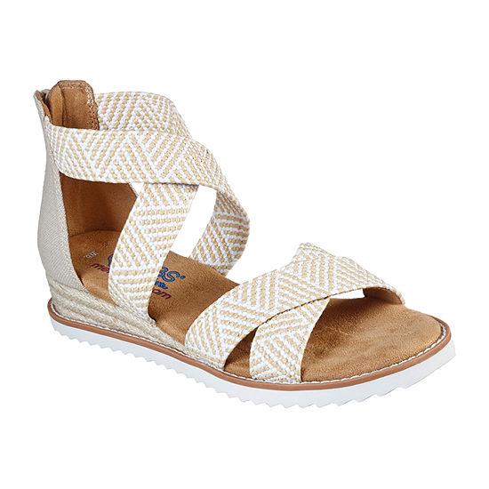 Skechers Bobs Womens Desert Kiss - Summer Sun Strap Sandals