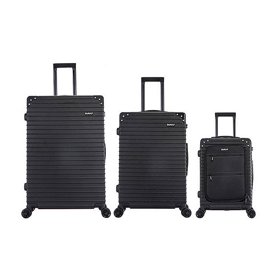 Dukap Tour 3-pc. Hardside Lightweight Luggage Set