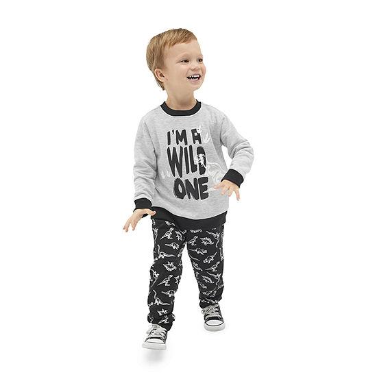 Little Rebels Boys 2-pc. Animal Pant Set Toddler