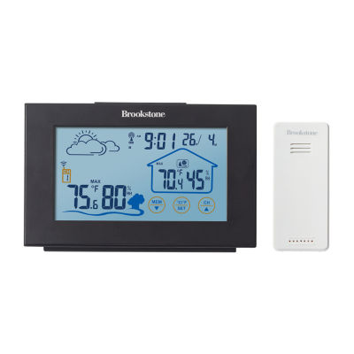 Brookstone Touch Display Digital Weather Forecaster