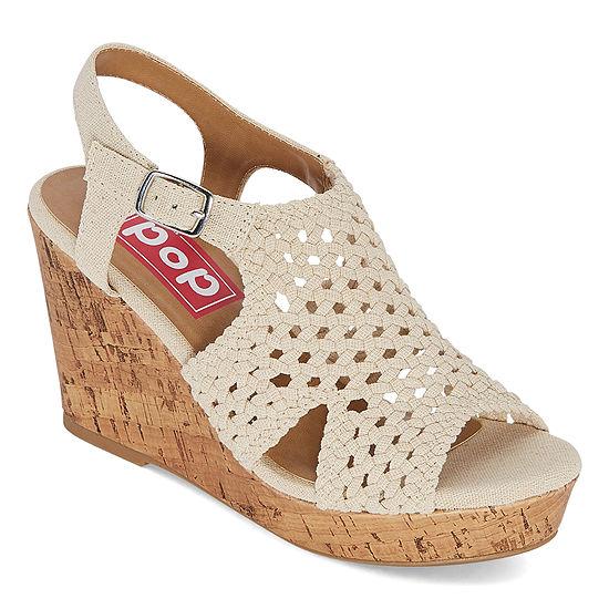 Pop Womens Tamassa Wedge Sandals