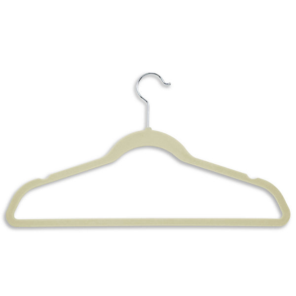 Honey-Can-Do® 20-Pack Velvet Touch Suit Hangers - White