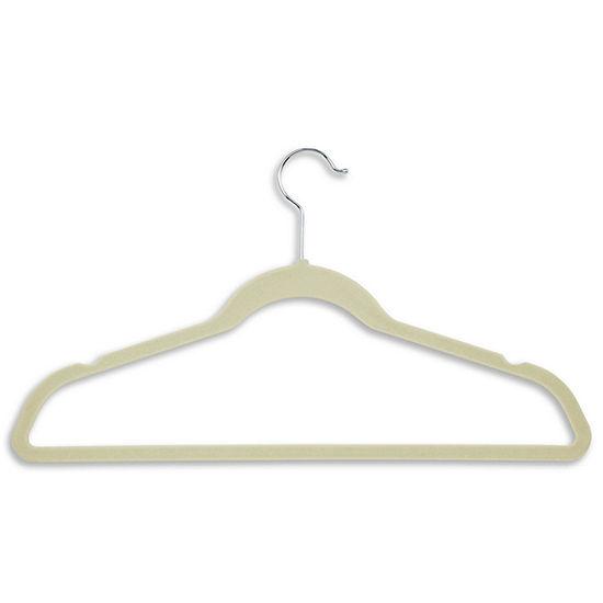 Honey-Can-Do® 20-Pack Velvet Touch Suit Hangers - White
