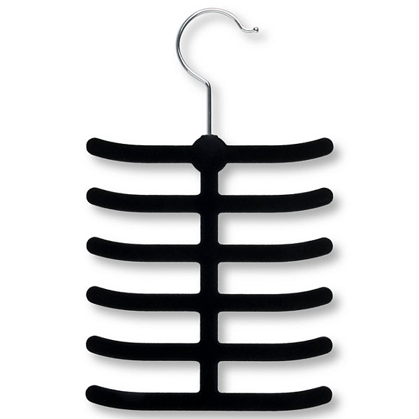 Honey-Can-Do® Black 12-Hook Tie Hanger