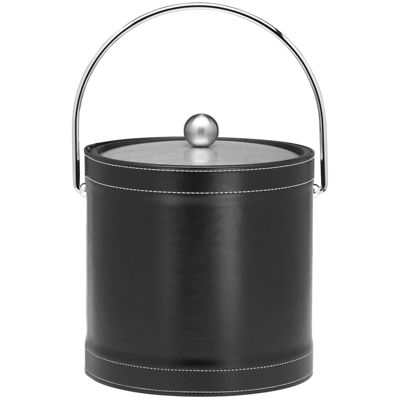 Kraftware 3-qt. Stitched Ice Bucket with Bale Handle