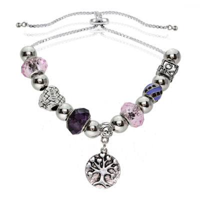 Dazzling Designs™ Adjustable Tree of Life Bracelet