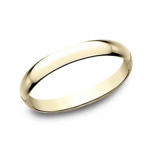 Womens 2.5mm 18K Yellow Gold Wedding Band