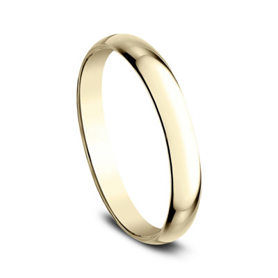 Womens 2.5mm 18K Yellow Gold Wedding Band