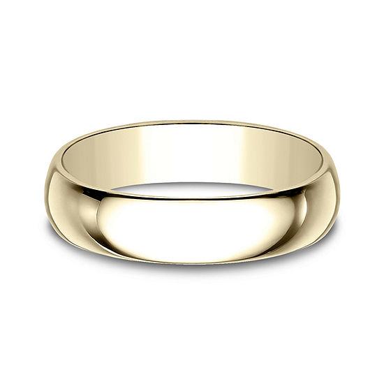 5MM 14K Gold Wedding Band