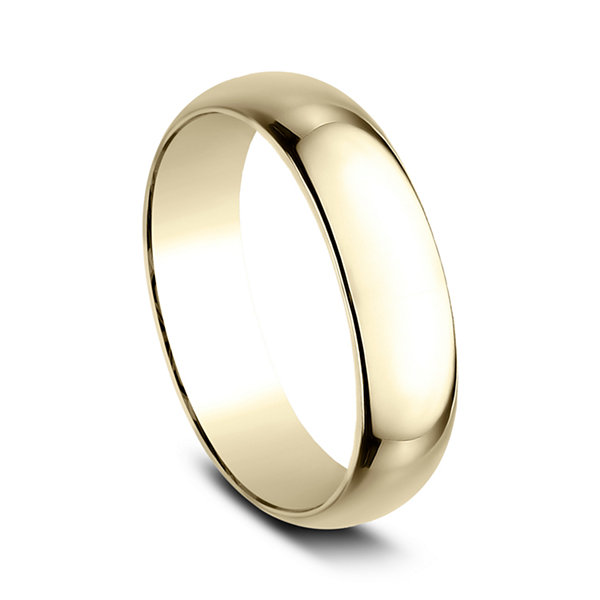 Mens 14K Gold Wedding Band
