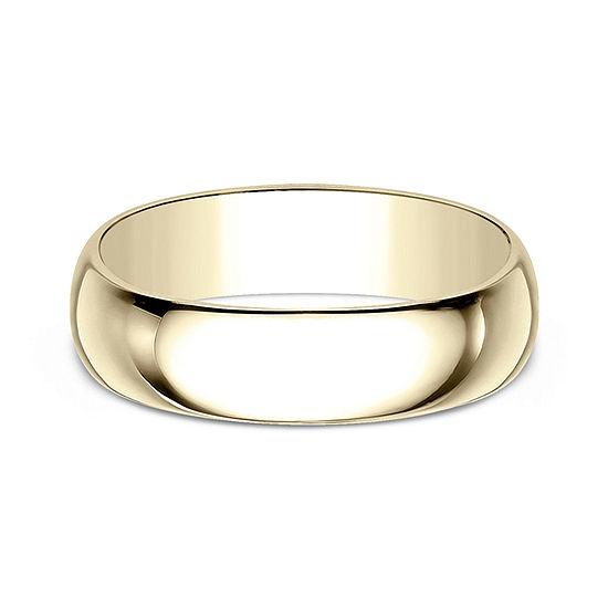 Mens 7 Mm 14K Gold Wedding Band