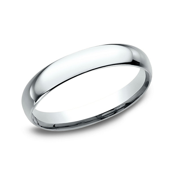 womens 10k white gold 3mm comfort fit wedding band jcpenney